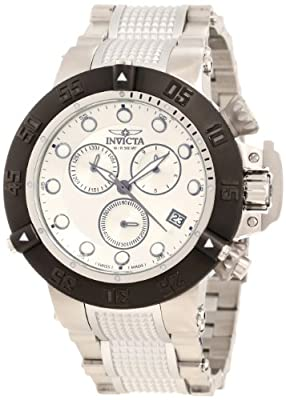 Invicta Men's 10548 Subaqua Noma III Chronograph Silver Dial Watch