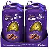 Cadbury Dairy Milk Easter Egg 331g (Box of 4)
