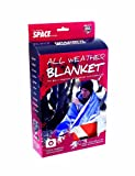 Grabber Outdoors Original Space Brand All Weather Blanket: Orange, 5 ft x 7 ft,  Box