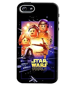 Clarks Star Wars Hard Plastic Printed Back Cover/Case For Apple iPhone 5s