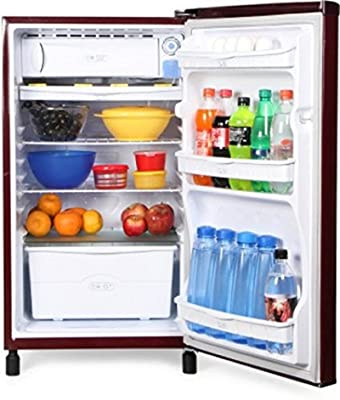 Videocon VA163BBR-FDA Direct-cool Single-door Refrigerator (150 Ltrs, 2 Star Rating, Burgundy Red )