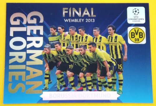 German Glories Borussia Dortmund limited Edition Panini Adrenalyn XL Champions League 2013/2014
