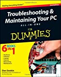 img - for Troubleshooting and Maintaining Your PC All-in-One For Dummies book / textbook / text book