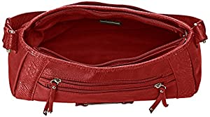 Bolsa Rosetti Swept Away Small Hobo Tote, talla única, color cardinal
