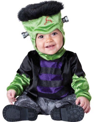 Baby-Toddler-Costume Monster Boo Toddler Costume Sm. 12-18 Months Halloween