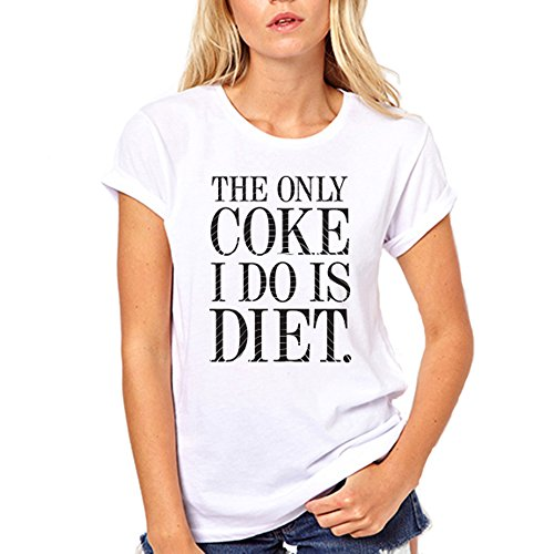 gullprint-womens-the-only-coke-i-do-is-diet-funny-tee-shirt-large-white