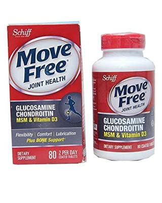 Move Free Advanced Plus MSM and Vitamin D, 120 Count