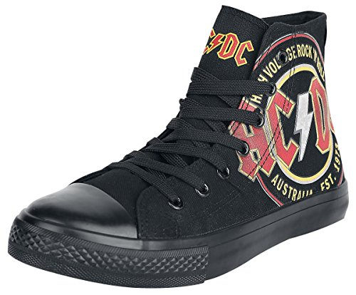 AC/DC High Voltage Scarpe sportive nero EU43