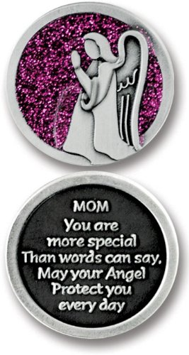 Cathedral Art PT632 Mom Companion Unique Decorative Coin, 1-1/4-Inch