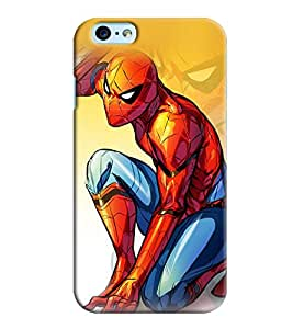 Clarks Spider Man Inspired Hard Plastic Printed Back Cover/Case For Apple iPhone 6s