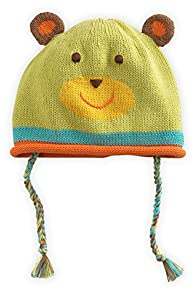 Joobles Organic Fair Trade Baby Hat - Huggy Bear (0-6 Months)