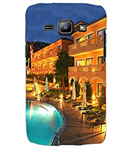SAMSUNG GALAXY J1 POOL VIEW Back Cover by PRINTSWAG