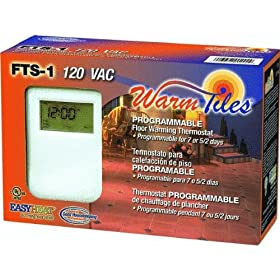 Easy Heat Inc. FTS1 Programmable Thermostat