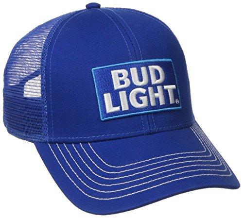 bud-light-twill-mesh-snapback-trucker-hat
