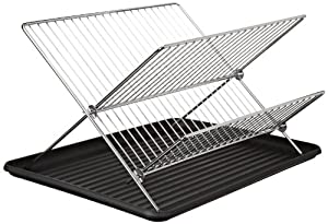 Cook Pro Chrome Folding Dish Rack by Cook Pro