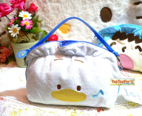 Sanrio Ahiru No Pekkle Duck Cell Phone Samsung Galaxy Note 1/2 Makeup Pencil Pouch Lolita Purse Strap (Removable) нижнее белье pekkle