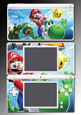 New Mario Bros Luigi Wario Yoshi Game Vinyl Decal Skin Protector Cover 10 for Nintendo DS Lite