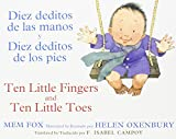 img - for Diez deditos de las manos y Diez deditos de los pies / Ten Little Fingers and Ten Little Toes bilingual board book (Spanish and English Edition) book / textbook / text book