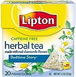 Lipton Pyramid Tea Bags, Bedtime Story, 20 Count Tea Bag
