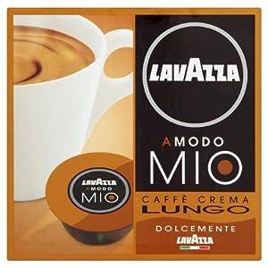 Order LavAzza Amodo Mio Caffe Crema 16 per pack Case Of 4 from Lavazza