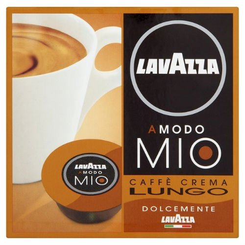 Order LavAzza Amodo Mio Caffe Crema 16 per pack Case Of 4 from Lavazza