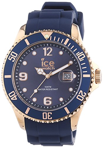 Ice-Watch Herren-Armbanduhr XL Style oxford blue Analog Quarz Silikon IS.OXR.B.S.13