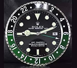 gmt master rolex horloge murale lumineuse cuisine maison. Black Bedroom Furniture Sets. Home Design Ideas