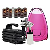 Maxi-Mist PRO Sunless Tanning Airbrush Spray System Machine TENT MaxiMist HVLP