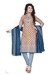 Balaji Fashion Women's cottan print suit D.NO2216_Multi-Coloured
