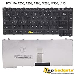 Lap Gadgets Laptop Keyboard For Toshiba Satellite L300 Series 6 months warranty with Free Keyboard Protector Skin by Lap Gadgets