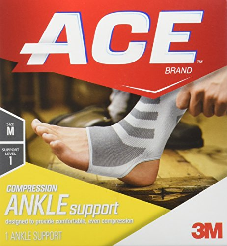 Ace Knitted Ankle Support Medium 1 Count 783318728360