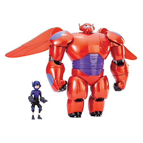 Big Hero 6 Flying Baymax by Bandai , 38621, 14.5x13.5x5.75 in, Made of Plastic