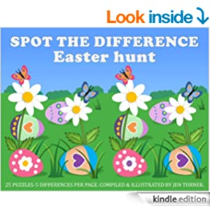 Spot the difference - Easter hunt - Kindle edition by Jen Turner