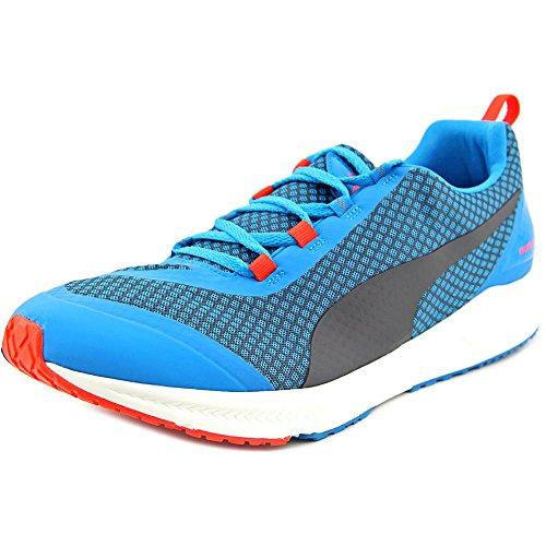 PUMA Men's Ignite XT Core Running Shoe, Atomic Blue/Black/Red, 10.5 D US