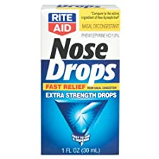 Rite Aid Nose Drops, Extra Strength, 1 oz