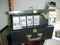 Black Storage Case for Baseball Cards