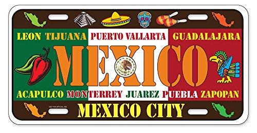 Dimension 9 Home Decorative Plates Mexico Garden