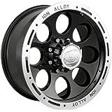 "Ion Alloy 174 Black Beadlock Wheel (15x8""/5x114.3mm)"