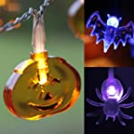 3er Set Halloween Lichterketten K�rbi...