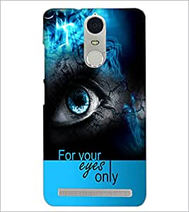 PrintDhaba Quote D-5938 Back Case Cover for LENOVO K5 NOTE (Multi-Coloured)