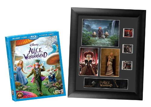 Alice in Wonderland  (3-Disc Blu-ray Combo Pack) (BD+DVD+DIGITAL COPY) with Photo Frame (Amazon Exclusive)