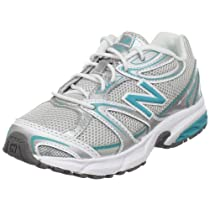 New Balance 632 H&L Sneaker (Little Kid/Big Kid),Silver/Turquoise-ST,11.5 W US Little Kid
