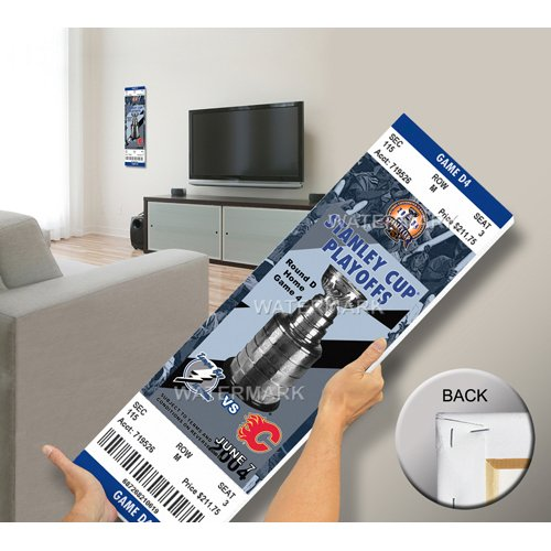 2004 NHL Stanley Cup Commemorative Mega Ticket - Tampa Bay Lightning-By BlueTECH