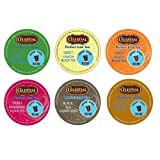 18 Pack - Variety Celestial Seasonings Perfect Iced Tea Sampler K-Cups for Keurig Brewers - Brew Over Ice - Half...