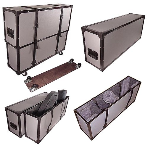 """Jew Detector: 42"""" Plasma LED LCD TuffBox 1/4"""" Road Case With Adjustable"""