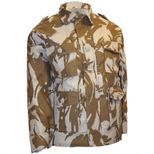 Boys 5-6 Padded Soldier Army Jacket Desert Camouflage