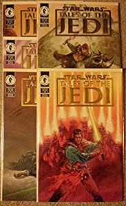 Star Wars Tales of the Jedi Gold Foil Limited Edition Comic Set
