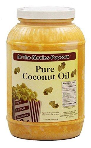 Coconut Popcorn Popping Oil (Gallon) (Popcorn Topping Oil compare prices)