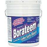 Dial 871882 Borateem Non-Chlorine Color Safe Bleach, 5 Gallon Pail, 424 Loads