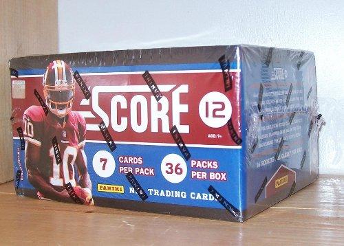 2012 Score NFL Football Trading Card Box